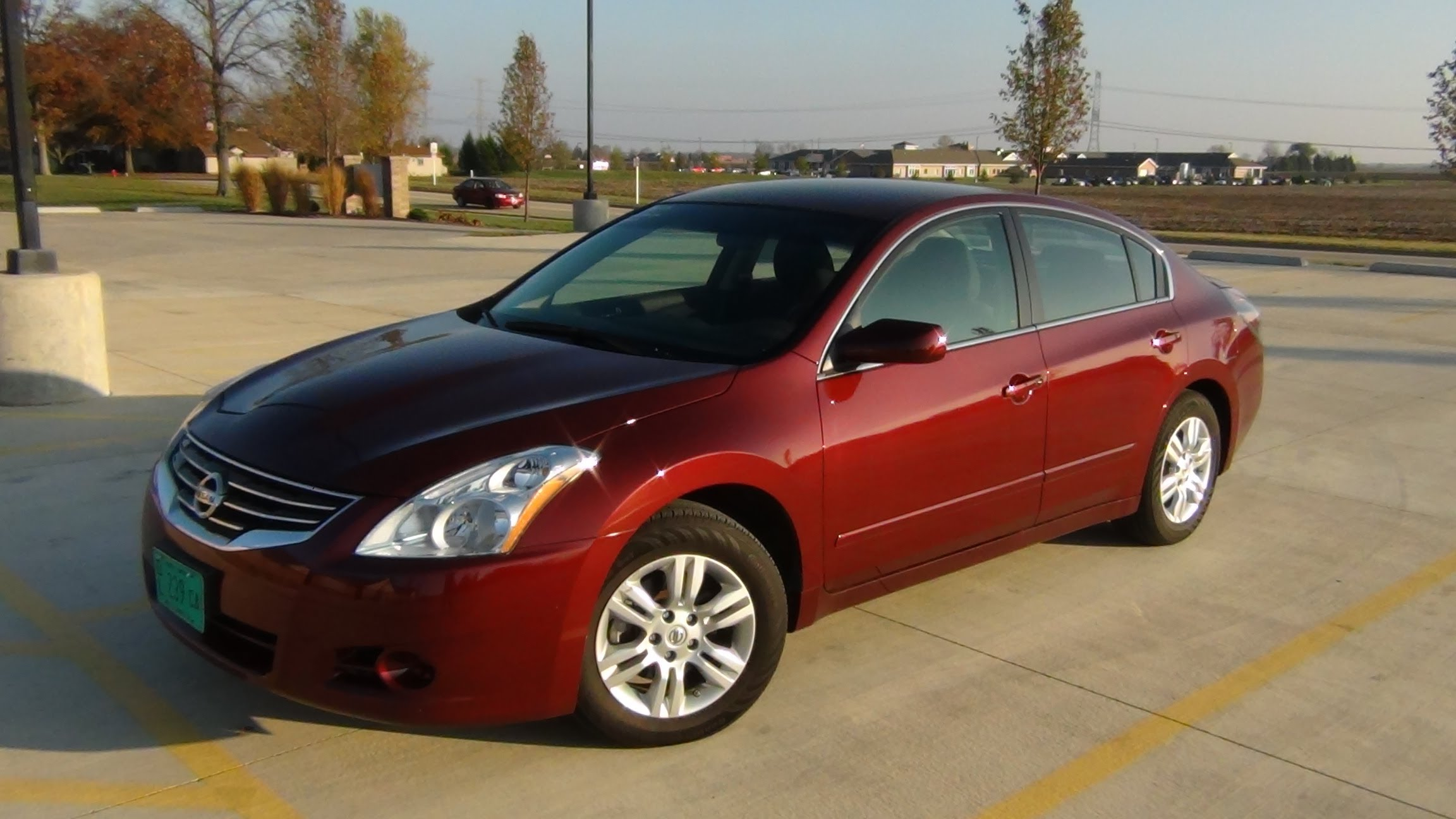2012 Nissan Altima Red Used Car And Auto Parts Sale In