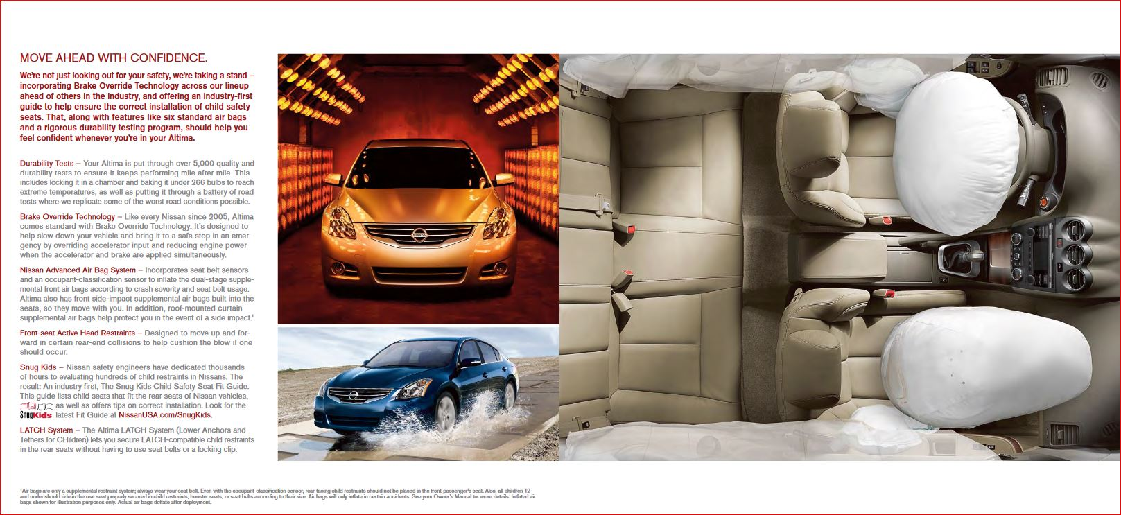 nissan altima air bags and safety used car and auto parts sale innissan altima air bags and safety